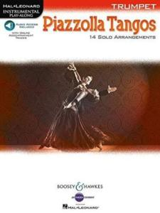 PIAZZOLLA ASTOR - PIAZZOLA TANGOS TRUMPET + AUDIO-DOWNLOAD - TROMPETTE