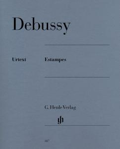 DEBUSSY CLAUDE - ESTAMPES - PIANO