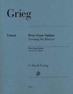 GRIEG EDVARD - SUITES PEER GYNT - PIANO