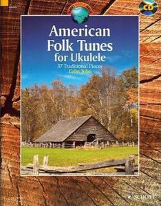 AMERICAN FOLK TUNES +CD (37 AIRS TRADITIONNELS) - UKULELE