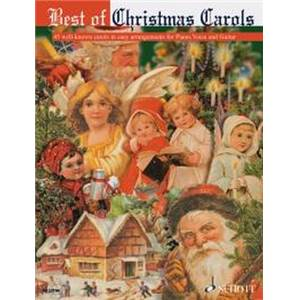 CARSON TURNER BARRIE - BEST OF CHRISTMAS CAROLS (45 NOELS CELEBRES) PIANO/VOIX/GUITARE