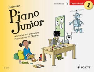 HEUMANN HANS GUNTER - PIANO JUNIOR : THEORY BOOK 1 +ONLINE ACCESS