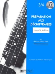 DARIZCUREN FRANCIS - PREPARATION AU DECHIFFRAGE VOL.3 ET 4 + CD ÉPUISÉ