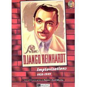 REINHARDT DJANGO - IMPROVISATIONS 1935 1949 + CD