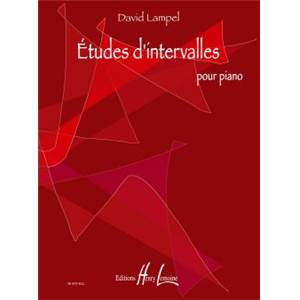 LAMPEL DAVID - ETUDES D'INTERVALLES - PIANO