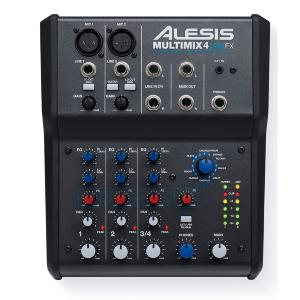 TABLE DE MIXAGE STUDIO ALESIS MULTIMIX MM4 USB FX