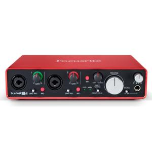 INTERFACE AUDIO FOCUSRITE SCARLETT 2I4