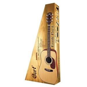 PACK CORT GUITARE FOLK ACOUSTIQUE EARTH 60 NS