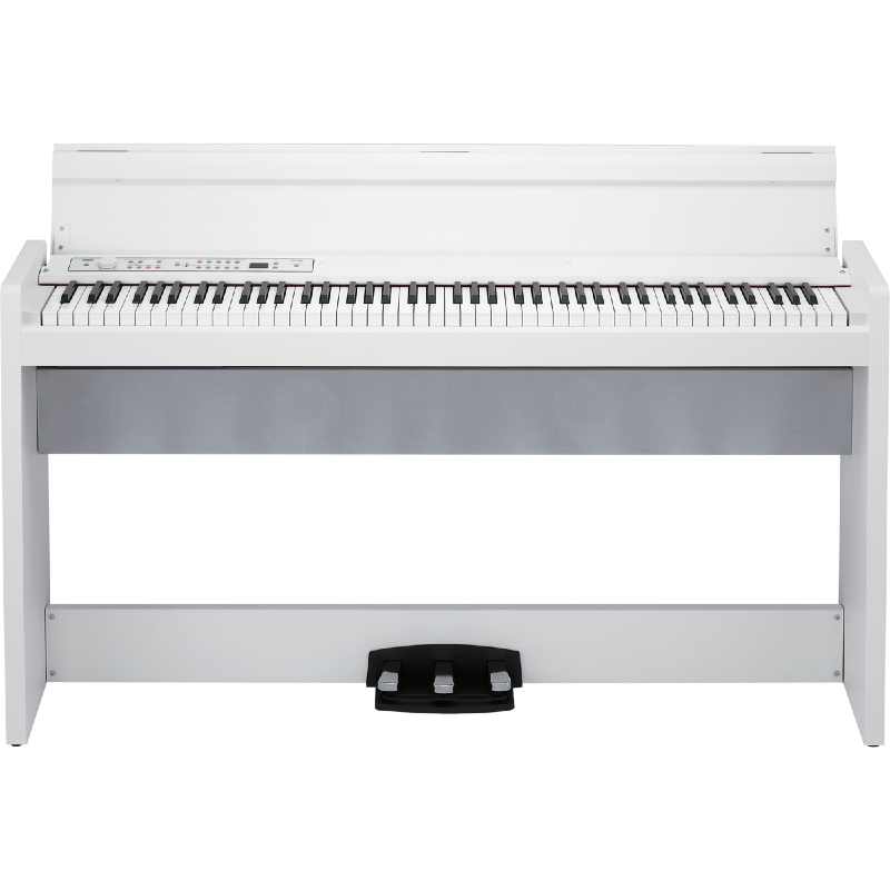 piano numerique meuble korg lp 380 wh paul. Black Bedroom Furniture Sets. Home Design Ideas