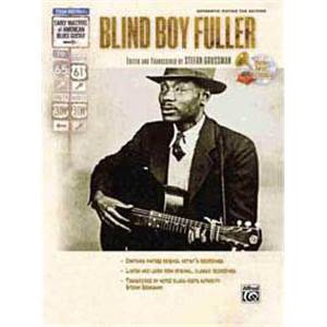 BLIND BOY FULLER - GUITAR TAB. + CD