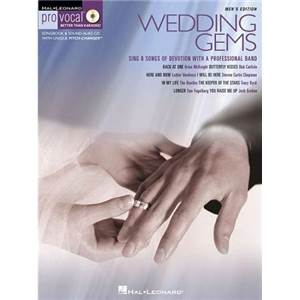 COMPILATION - PRO VOCAL FOR MALE SINGERS VOL.08 WEDDING GEMS + CD