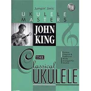 KING JOHN - CLASSICAL UKULELE + CD