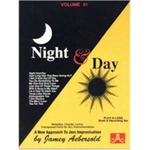 AEBERSOLD JAMEY - VOL. 051 NIGHT AND DAY + CD