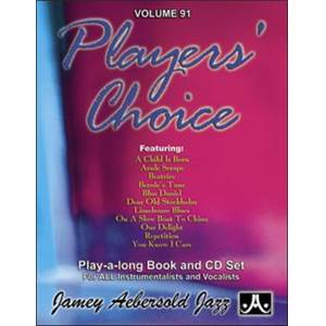 COMPILATION - AEBERSOLD 091 PLAYERS CHOICE + CD