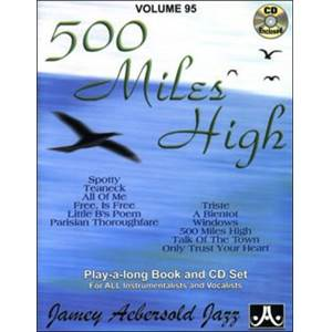 COMPILATION - AEBERSOLD 095 500 MILES HIGH + CD