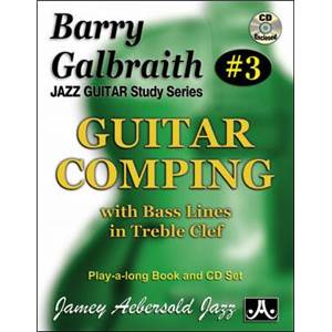 GALBRAITH BARRY - AEBERSOLD 003 GUITAR COMPING + CD