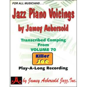 COMPILATION - JAZZ PIANO VOICINGS AEBERSOLD VOL.70 + CD