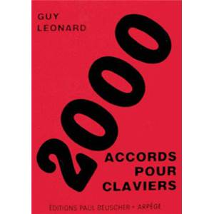 LEONARD GUY - 2000 ACCORDS POUR CLAVIERS