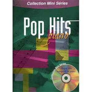 COMPILATION - MINI SERIES POP HITS PIANO + CD