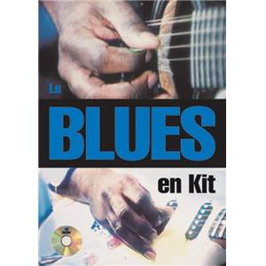 LEBHAR RENE - BLUES EN KIT A LA GUITARE + CD