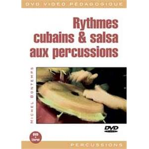 BONTEMPS M. - RYTMES CUBAINS ET SALSA PERCUSSION DVD