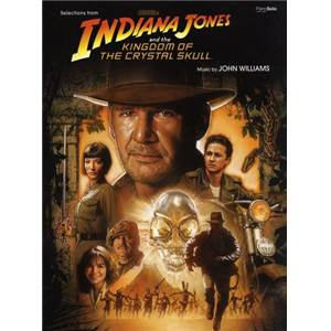 WILLIAMS JOHN - INDIANA JONES AND THE KINDOM OF THE CRYSTAL SKULL PIANO