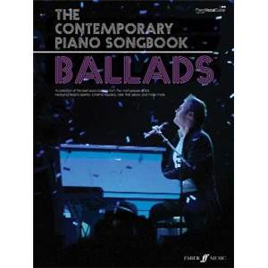 COMPILATION - CONTEMPORARY PIANO SONGBOOK BALLADS P/V/G