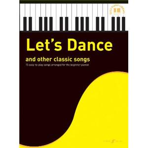 COMPILATION - EASY PIANO LIBRARY : LET'S DANCE AND OTHER CLASSIC SONGS