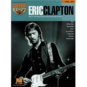 CLAPTON ERIC - GUITAR PLAY ALONG VOL.024 + ONLINE AUDIO ACCESS