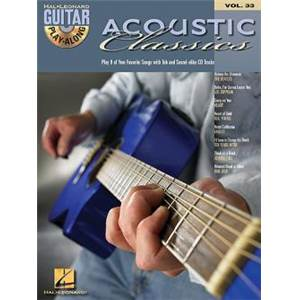 COMPILATION - GUITAR PLAY ALONG VOL.033 ACOUSTIC CLASSICS + CD