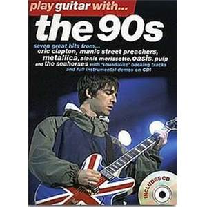 COMPILATION - PLAY GUITAR WITH THE 90S + CD