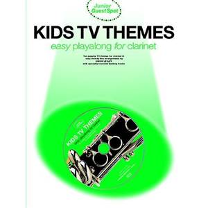 COMPILATION - JUNIOR GUEST SPOT: KIDS TV THEMES EASY PLAY ALONG (CLARINET) + CD