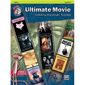 COMPILATION - ULTIMATE MOVIE INSTRUMENTAL SOLOS VIOLIN LEVEL 2-3 + CD
