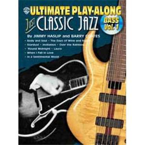 COMPILATION - ULTIMATE PLAY ALONG JUST CLASSIC JAZZ BASS VOL.1 TAB. + CD