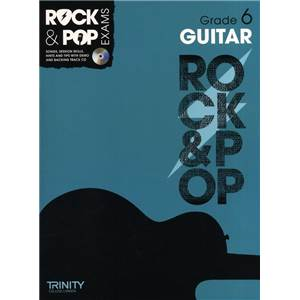COMPILATION - TRINITY COLLEGE LONDON : ROCK & POP GRADE 6 FOR GUITAR + CD