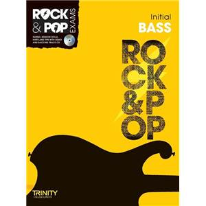 COMPILATION - TRINITY COLLEGE LONDON : ROCK & POP INITIAL FOR BASS + CD