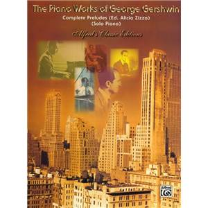 GERSHWIN GEORGE - COMPLETE PRELUDES FOR SOLO PIANO