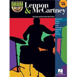 LENNON / MCCARTNEY - DRUM PLAY ALONG VOL.15 + CD
