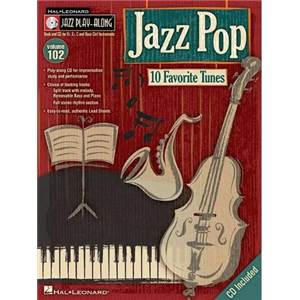 COMPILATION - JAZZ PLAY ALONG VOL.102 JAZZ POP + CD