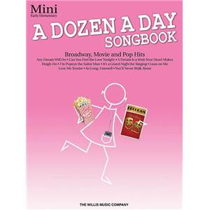 COMPILATION - DOZEN A DAY MINI VOL.BROADWAY, MOVIE AND POP HITS SONGBOOK+ CD