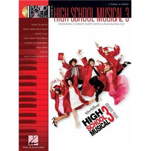 DISNEY - PIANO DUET PLAY ALONG VOL.35 HIGH SCHOOL MUSICAL 3 + CD