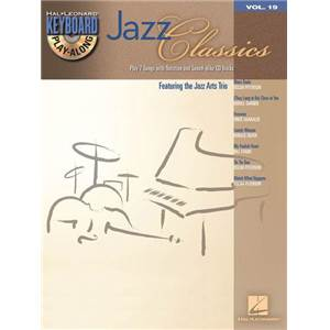 COMPILATION - KEYBOARD PLAY ALONG VOL.19 JAZZ CLASSICS + CD