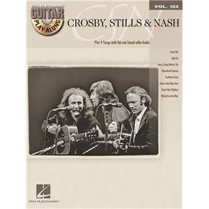 CROSBY STILLS NASH - GUITAR PLAY ALONG VOL.122 + CD
