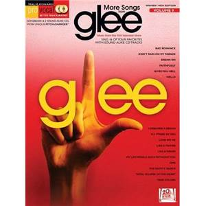 COMPILATION - PRO VOCAL FOR WOMEN AND MEN SINGERS VOL.09 MORE SONGS FROM GLEE + CD