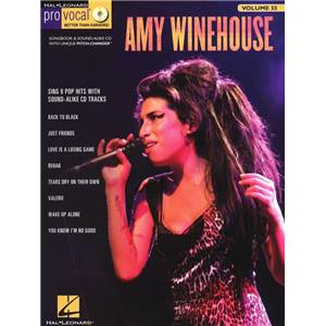 WINEHOUSE AMY - PRO VOCAL FOR WOMEN SINGERS VOL.55 + CD