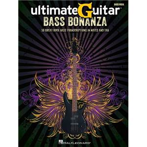 COMPILATION - ULTIMATEGUITAR: BASS BONANZA BASS TAB.