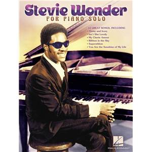 WONDER STEVIE - THE BEST OF PIANO SOLOS