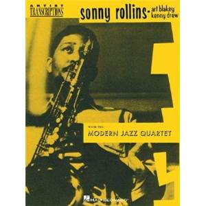 ROLLINS SONNY - WITH THE MODERN JAZZ QUARTET FOR TENOR SAXOPHONE ARTIST TRANSCRIPT