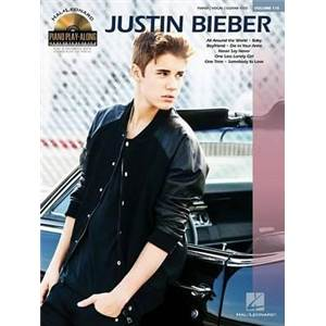 BIEBER JUSTIN - PIANO PLAY ALONG VOL.110 + CD