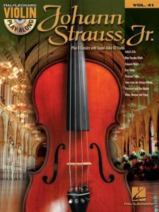 STRAUSS JOHANN - VIOLIN PLAY ALONG VOL.041 + CD